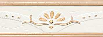 Decorated Tile - Border Tile