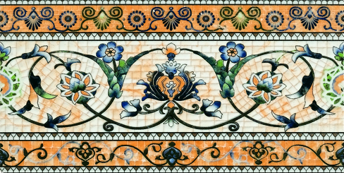 Decorated Tile - Skirting Tile