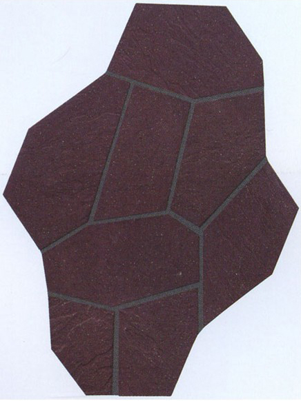 Exterior Wall Tile - Stone Cube Tile