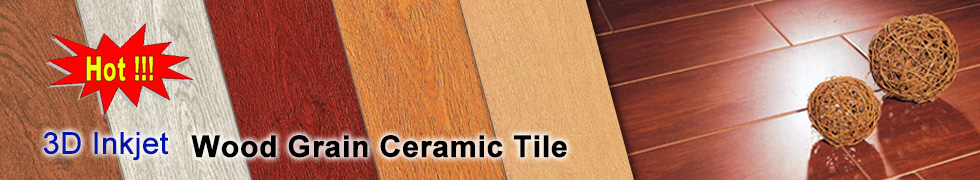 Ceramic Wood Tile|3D Inkjet